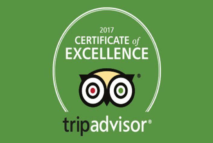 Πιστοποιητικό Διάκρισης TripAdvisor