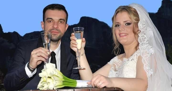 Ενώθηκαν με τα ιερά δεσμά του γάμου η Καλλιόπη Παπαβασιλείου και ο Νίκος Καλύβας