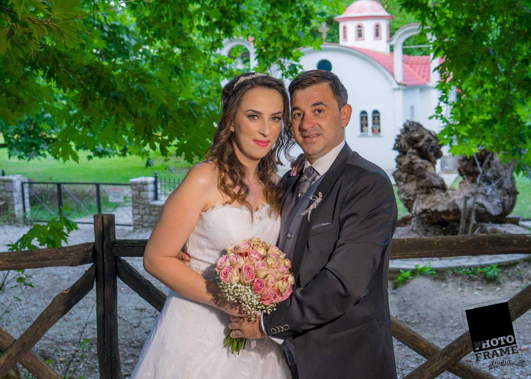 Ένας υπέροχος γάμος στη Χρυσομηλιά Καλαμπάκας