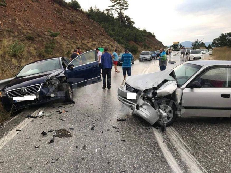 Τροχαίο ατύχημα στην Ε.Ο. Καλαμπάκας  - Ιωαννίνων