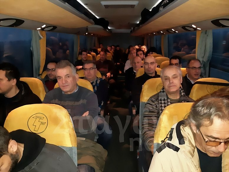 Συλλαλητήριο για την Μακεδονία – Αναχώρησαν τα Λεωφορεία για την Αθήνα