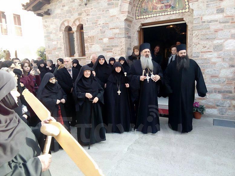 Η ενθρόνιση της νέας Καθηγούμενης της Ιεράς Μονής Βυτουμά Θεοκτίστης Μοναχής