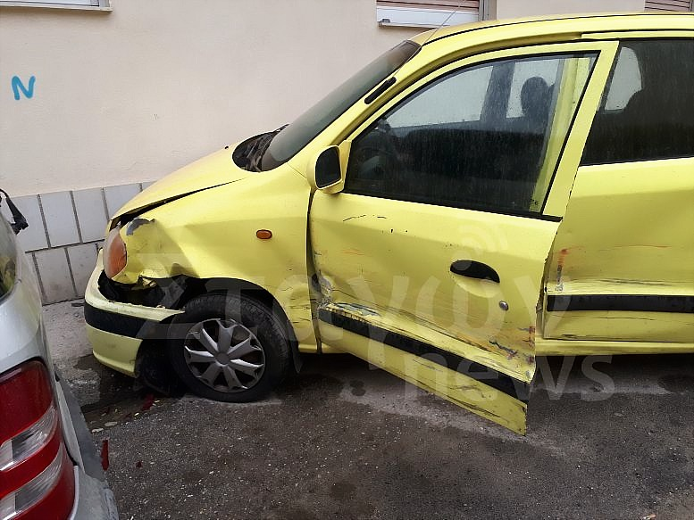 Τροχαίο ατύχημα πριν λίγο στην Καλαμπάκα