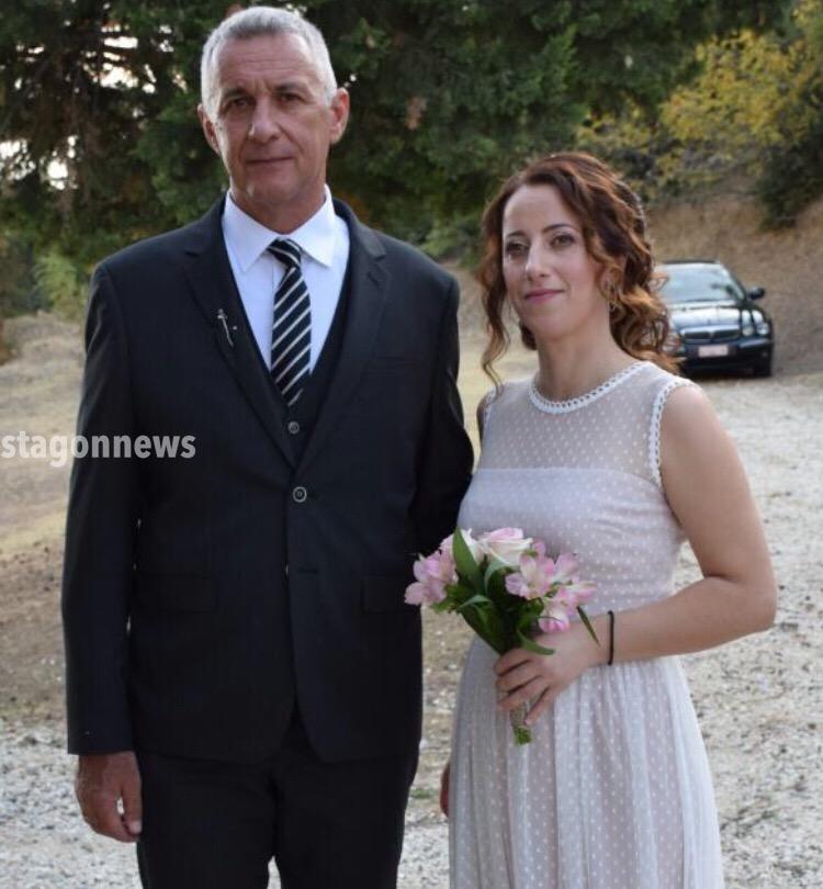 Με τα δεσμά του γάμου ενώθηκε ο  Διοικητής της Π.Υ. Καλαμπάκας Βαγγέλης Τσορλίδας