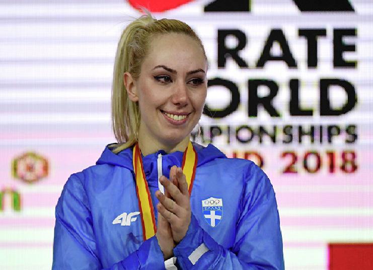 Αποτέλεσμα εικόνας για αθλήτρια Ελένη Χατζηλιάδου